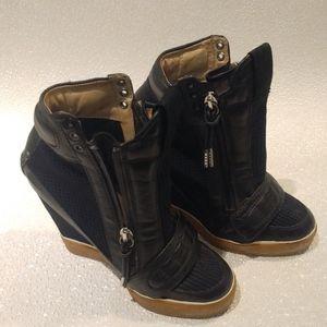 L.A.M.B high heels sneakers